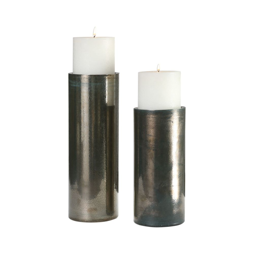 Uttermost Company - Amala Candle Holders, Set/2