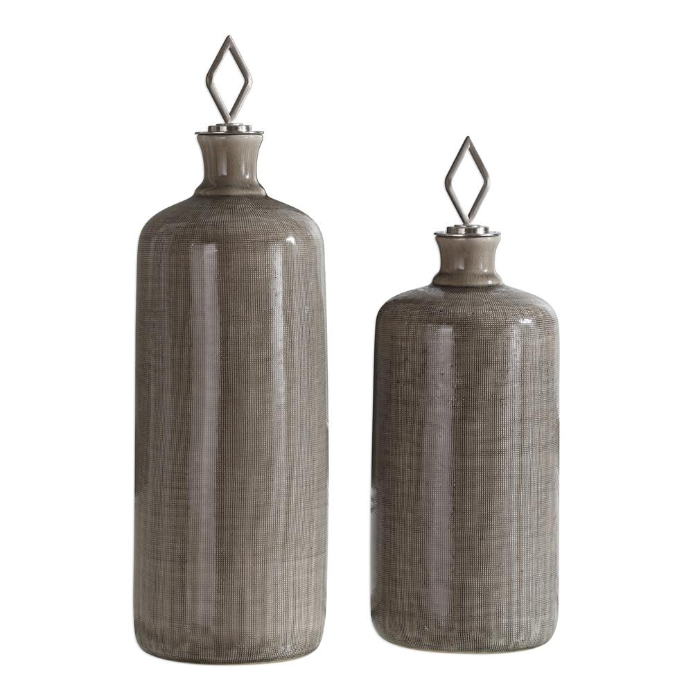 Uttermost Company - Dhara Bottles, Set/2