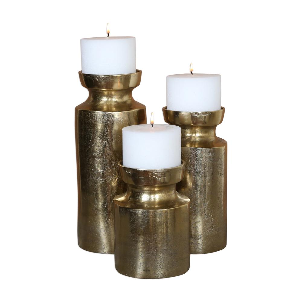 Uttermost Company - Amina Candle Holders, Set/3