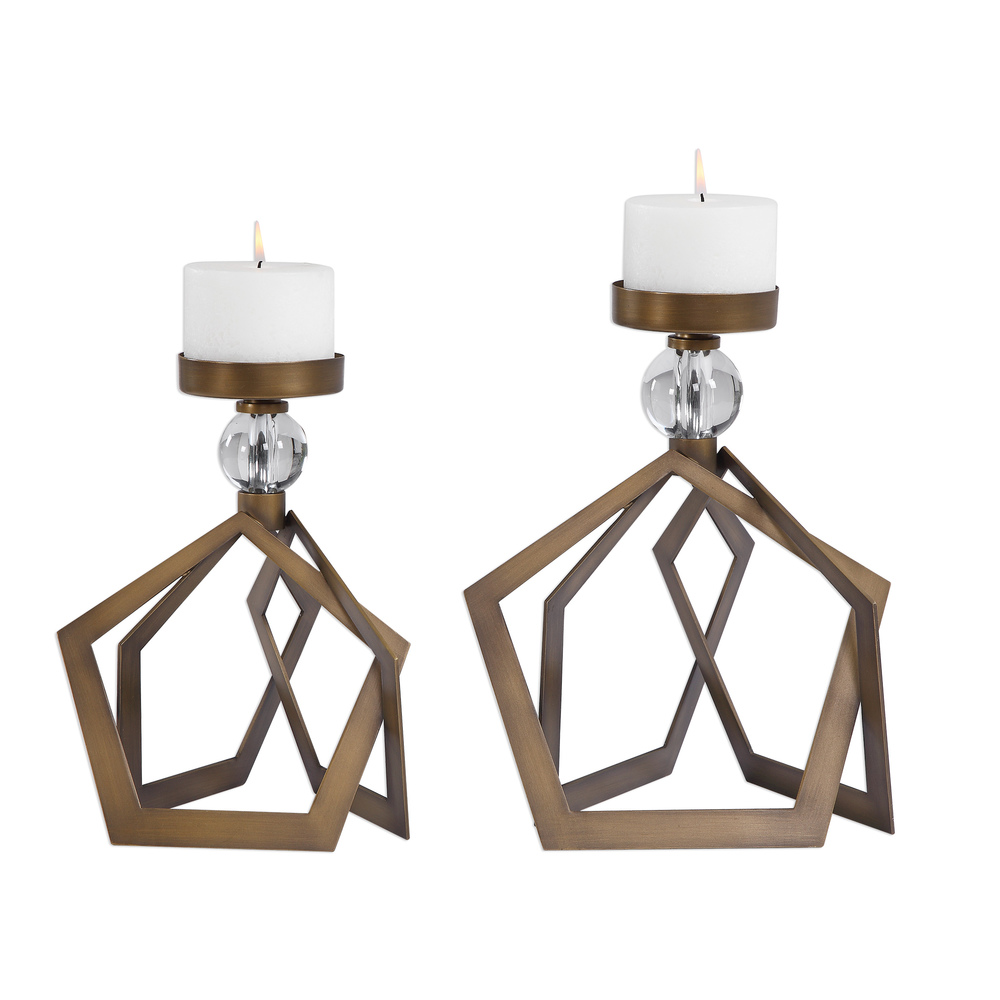 Uttermost Company - Lianna Candle Holders, Set/2