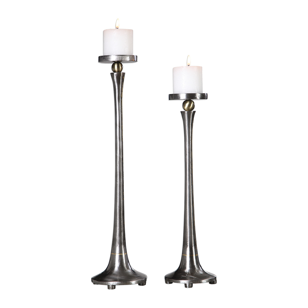 Uttermost Company - Aliso Candle Holders, Set/2