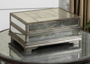 Thumbnail of Uttermost Company - Trory Mirrored Decorative Box
