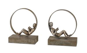 Thumbnail of Uttermost Company - Lounging Reader Bookends, Set/2