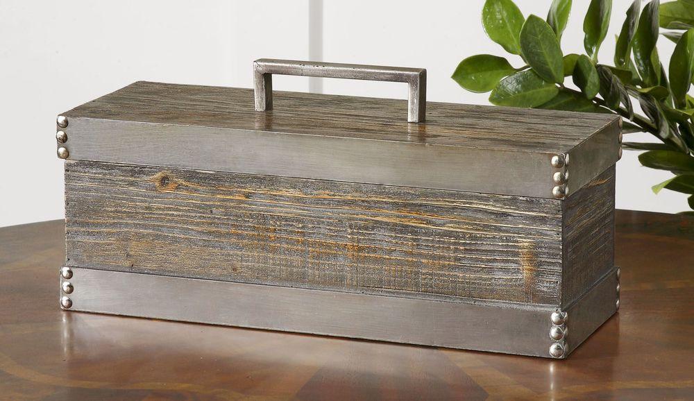 Uttermost Company - Lican Natural Wood Decorative Box