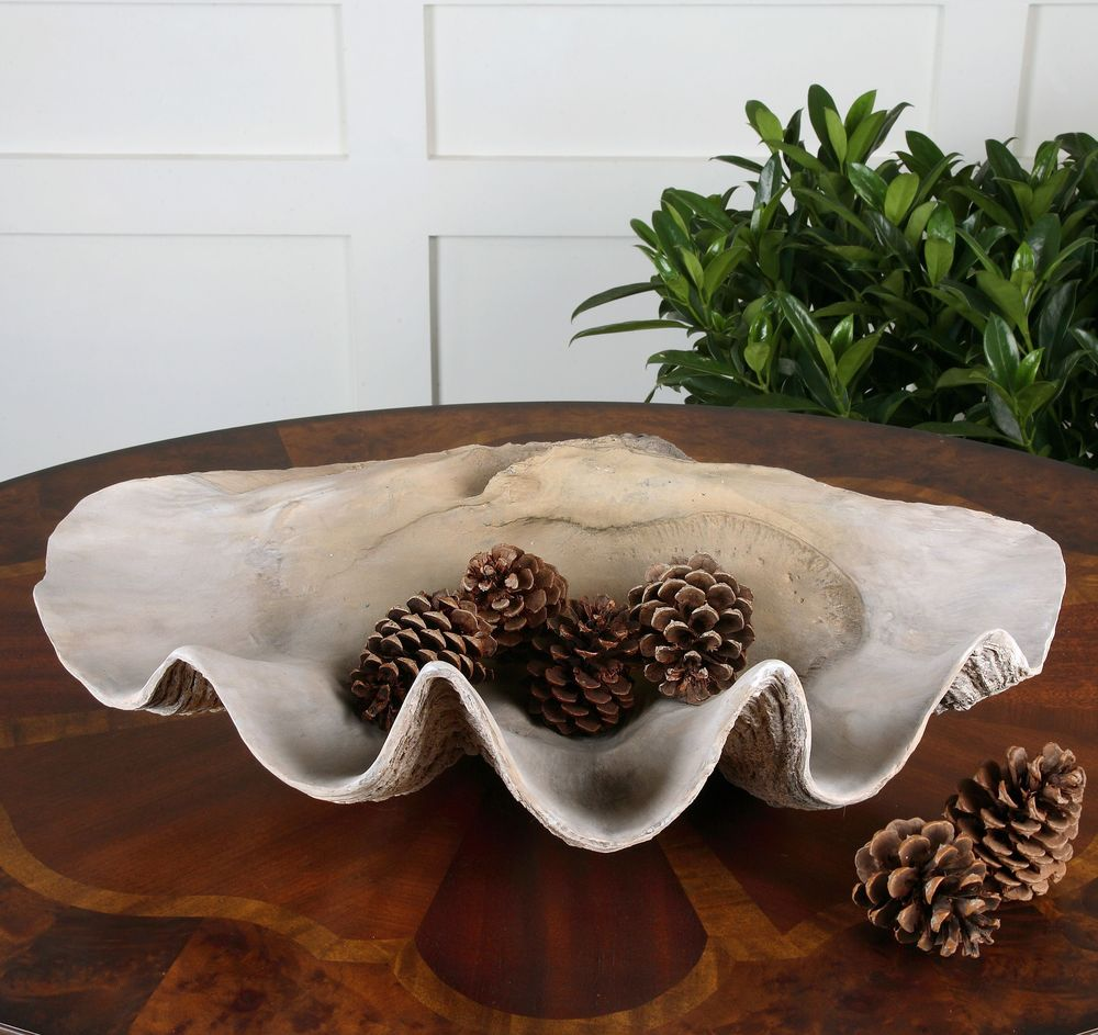 Uttermost Company - Clam Shell Bowl