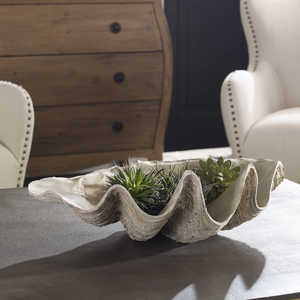 Thumbnail of Uttermost Company - Clam Shell Bowl