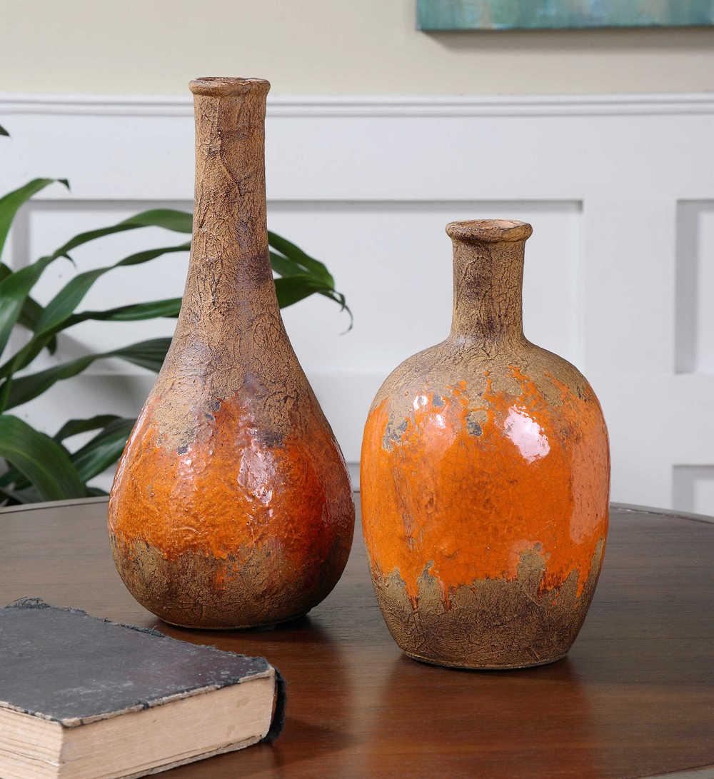 Uttermost Company - Kadam Vases, Set/2