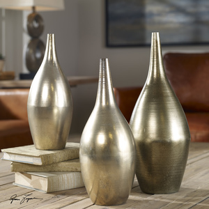 Thumbnail of Uttermost Company - Rajata Vases, Set/3