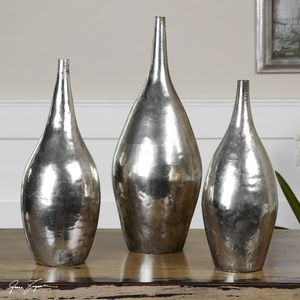 Thumbnail of Uttermost Company - Rajata Vases, Set/3