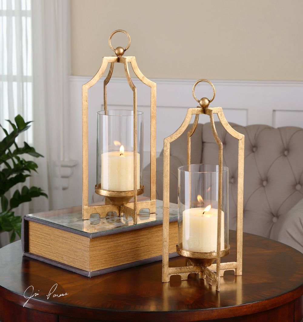Uttermost Company - Lucy Candle Holders, Set/2