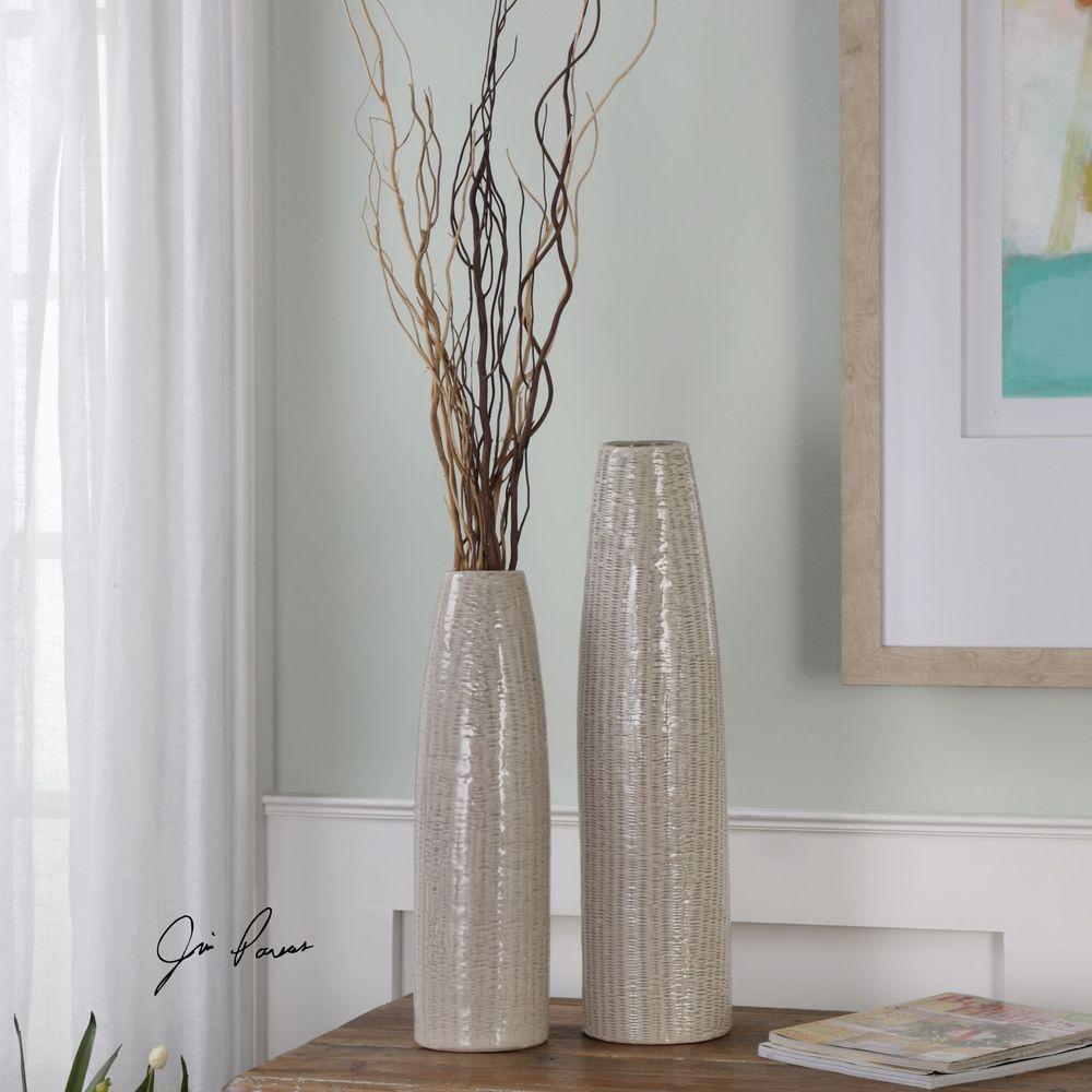 Uttermost Company - Sara Vases, Set/2