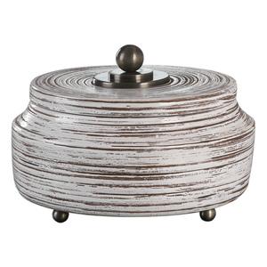 Thumbnail of Uttermost Company - Saltillo White Ceramic Box