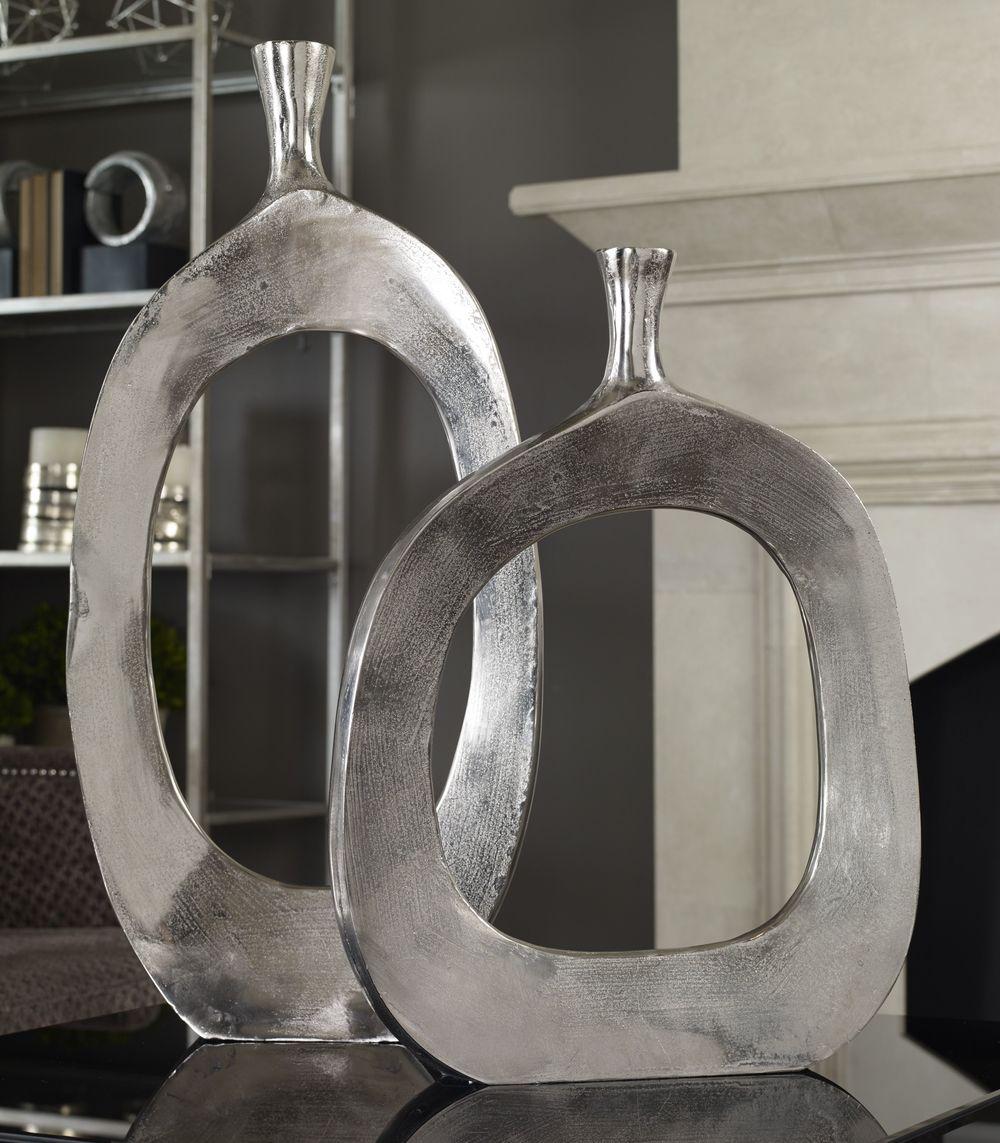 Uttermost Company - Cierra Vases, Set/2