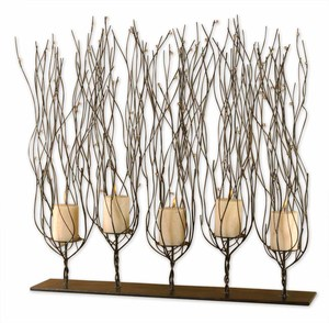 Thumbnail of Uttermost Company - Fedora Candle Holder