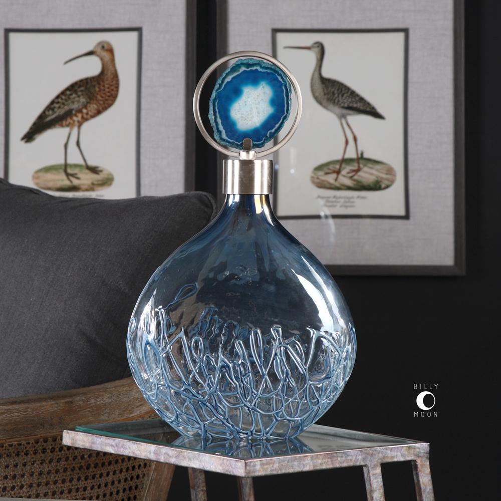 Uttermost Company - Rae Sky Blue Vase