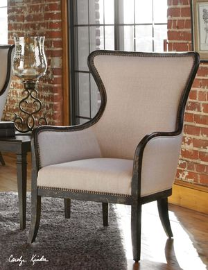 Thumbnail of Uttermost Company - Sandy Wing Chair