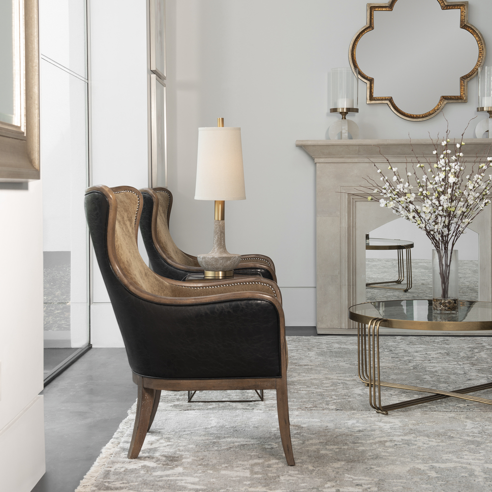 Uttermost Company - Snowden Wing Chair