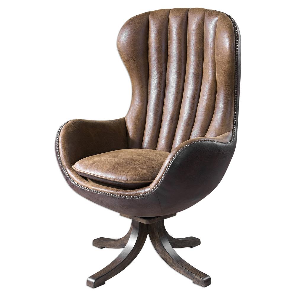 Uttermost Company - Garrett Swivel Chair