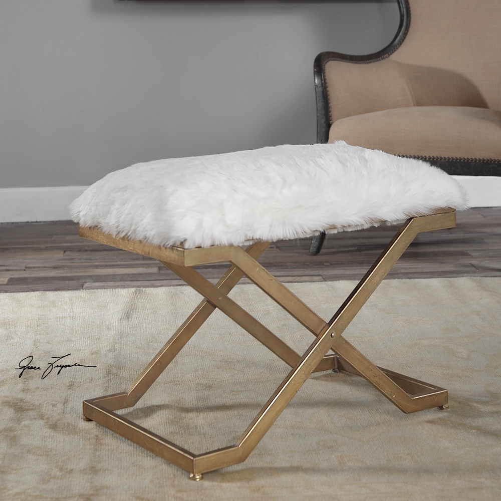 Uttermost Company - Farran Small Bench