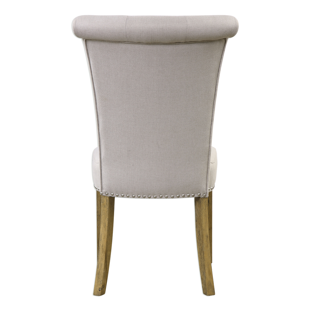Uttermost Company - Lucasse Oatmeal Dining Chair