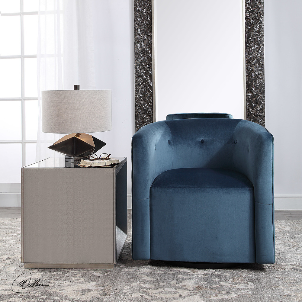 Uttermost Company - Mallorie Swivel Chair