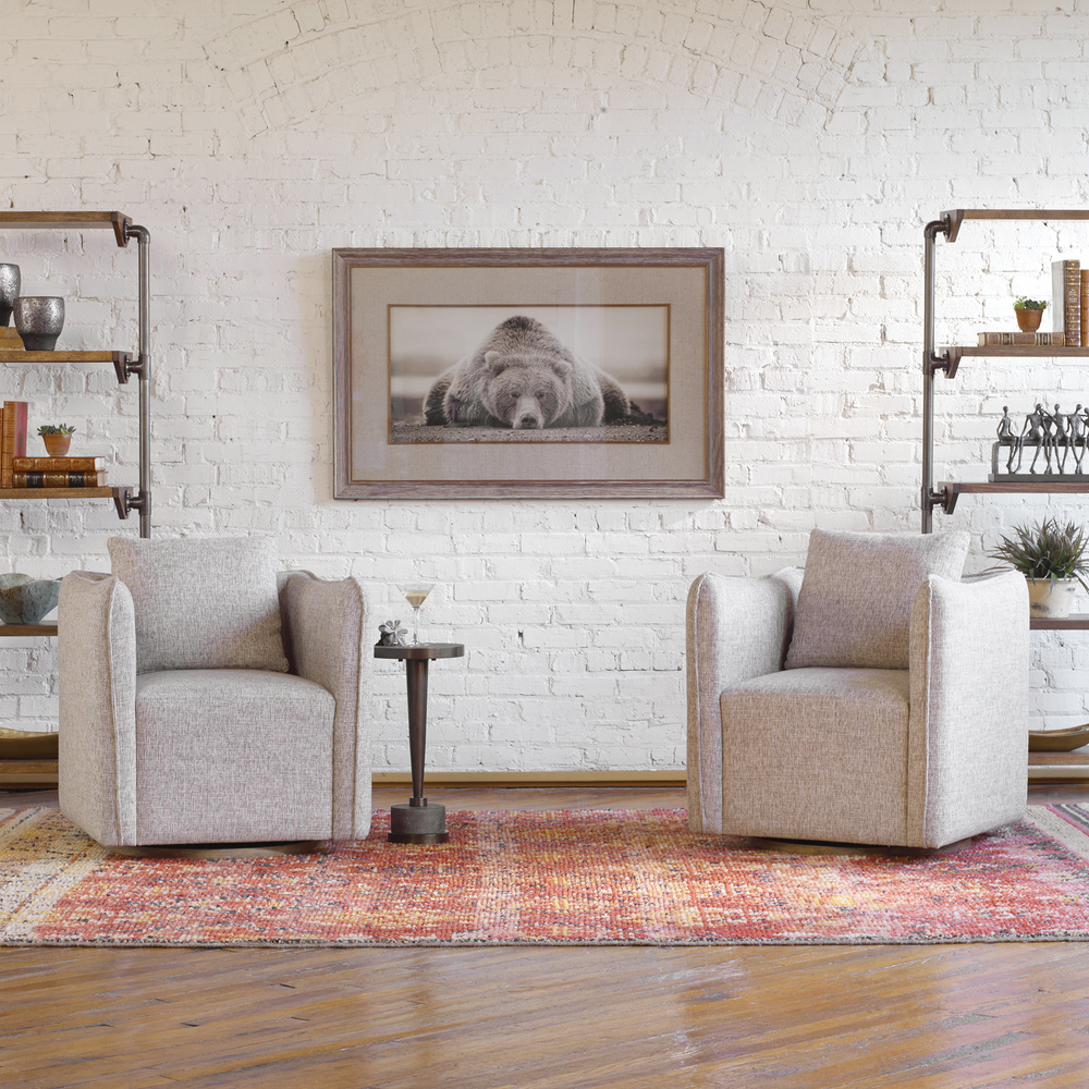 Uttermost Company - Corben Swivel Chair