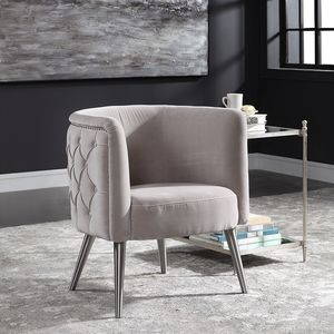 Thumbnail of Uttermost Company - Haider Accent Chair, Champagne