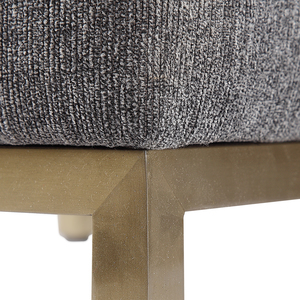 Thumbnail of Uttermost Company - Gerard Armless Charcoal Dining Chair