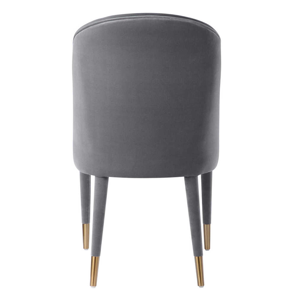 Uttermost Company - Brie Gray Armless Chair