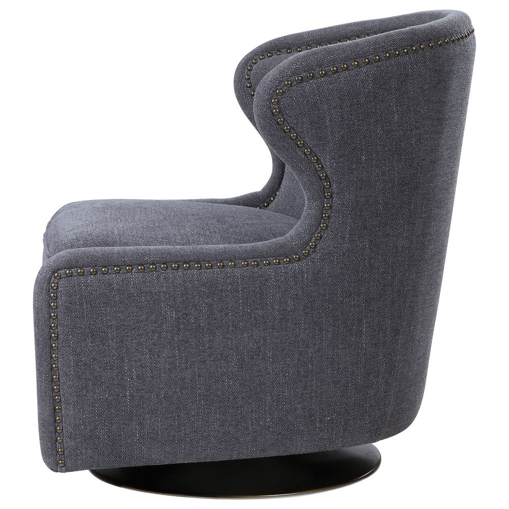 Uttermost Company - Biscay Swivel Chair