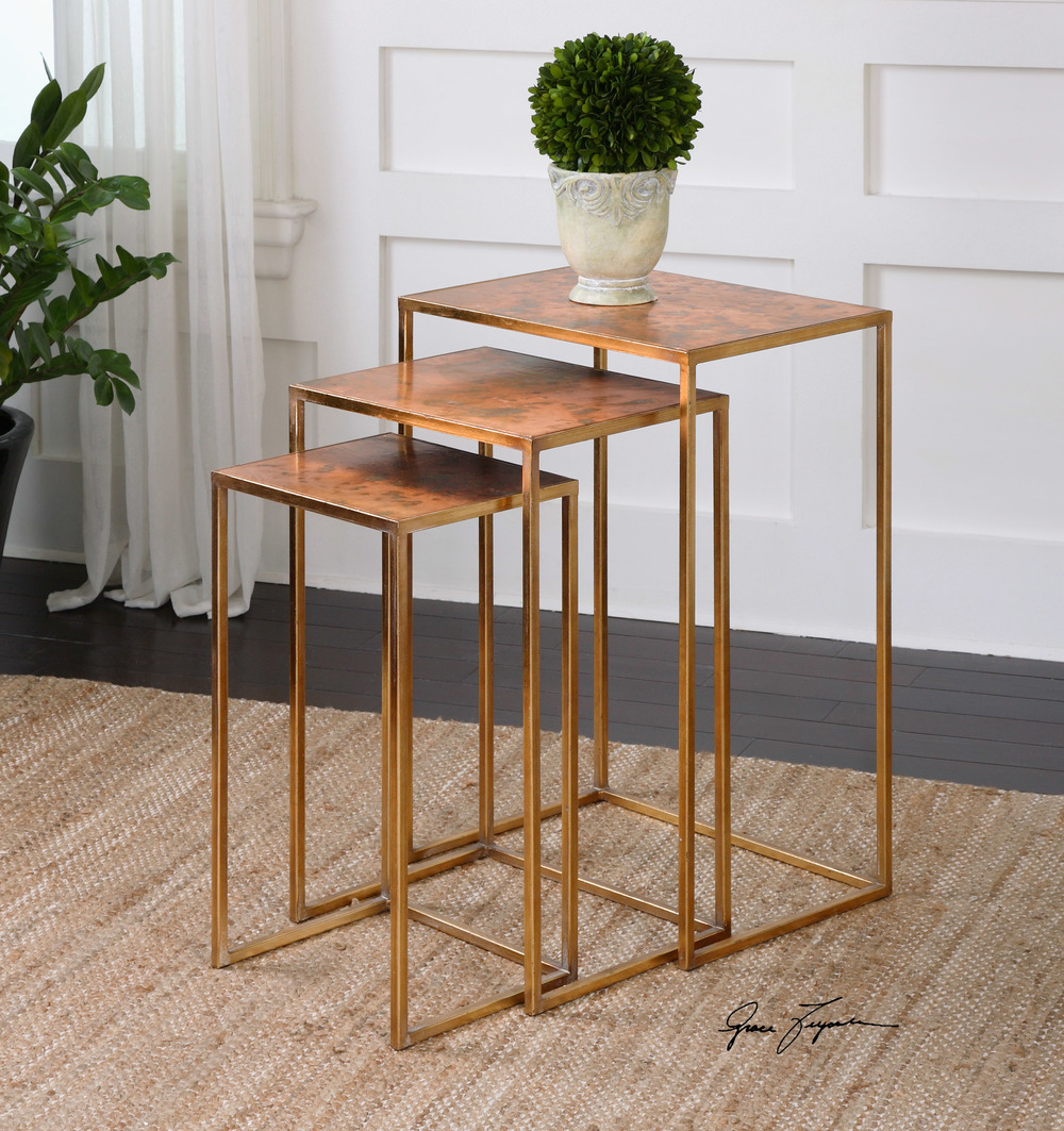 Uttermost Company - Copres Nesting Tables, Set/3