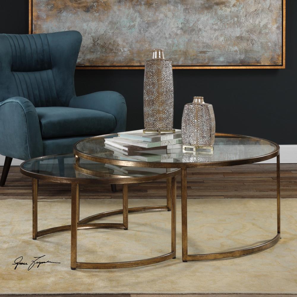 Uttermost Company - Rhea Nesting Tables, Set/2