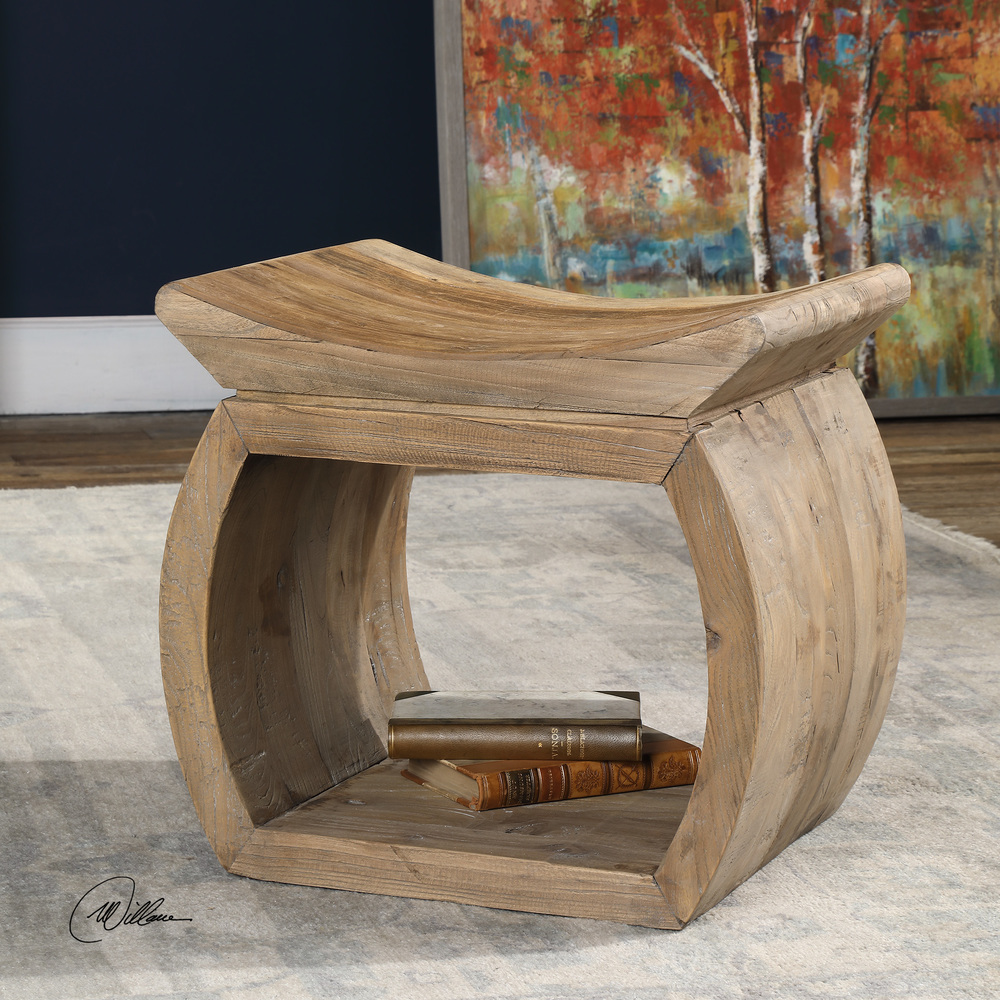 Uttermost Company - Connor Accent Stool