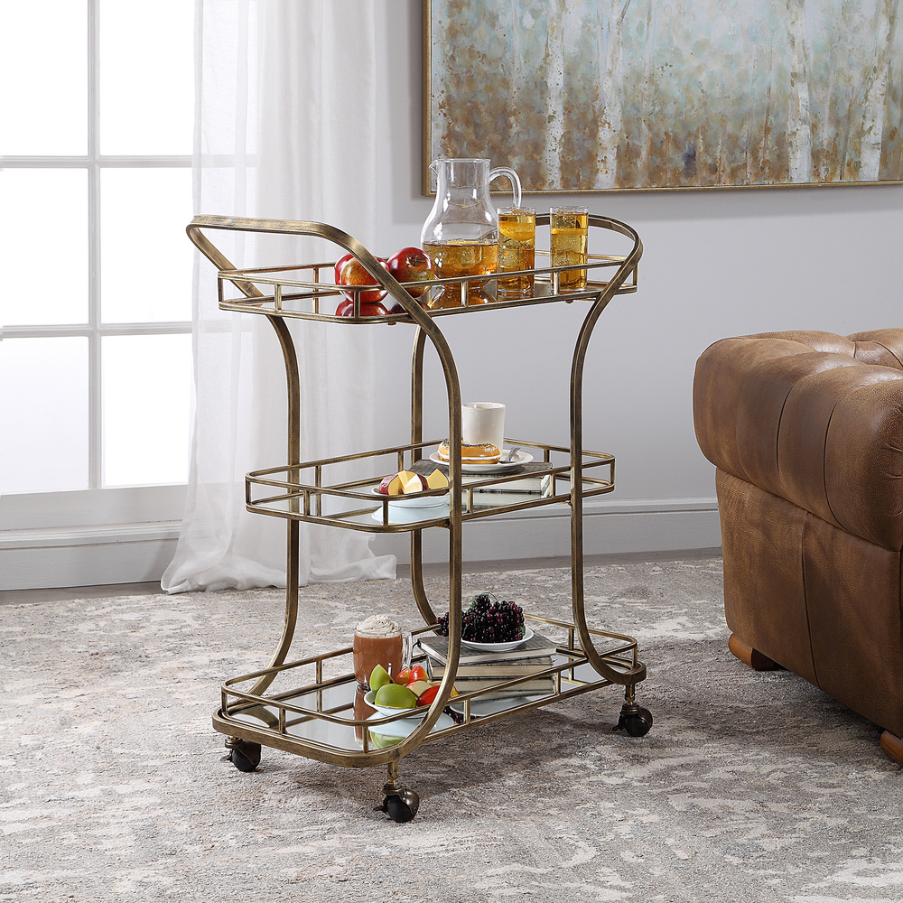 Uttermost Company - Stassi Serving Cart
