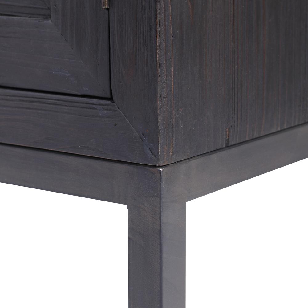Uttermost Company - Aiken Dark Walnut Two Door Cabinet