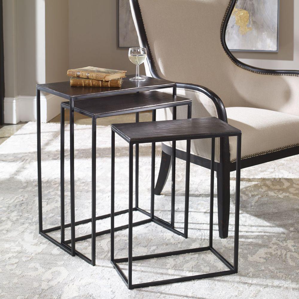 Uttermost Company - Coreene Nesting Tables, Set/3