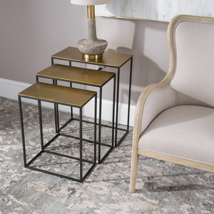Thumbnail of Uttermost Company - Coreene Nesting Tables, Set/3, Gold
