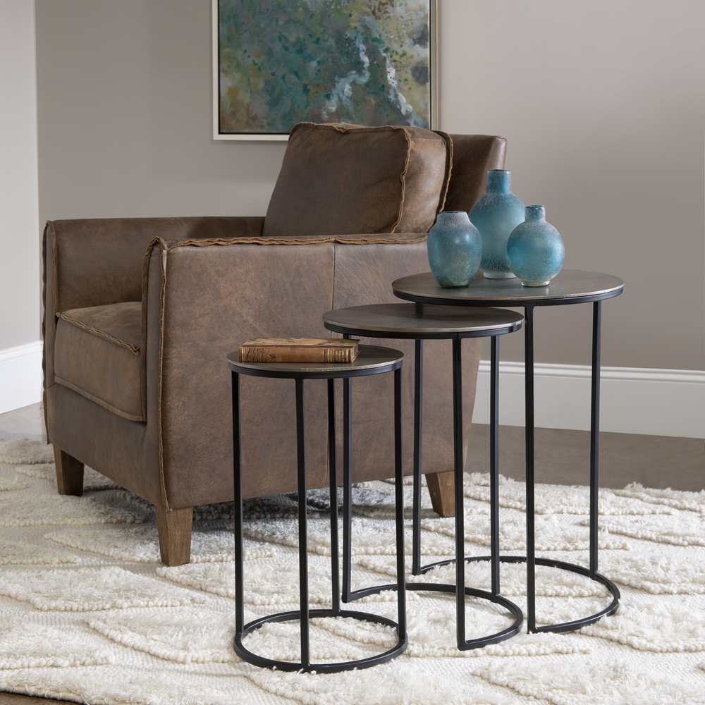Uttermost Company - Erik Nesting Tables, Set/3