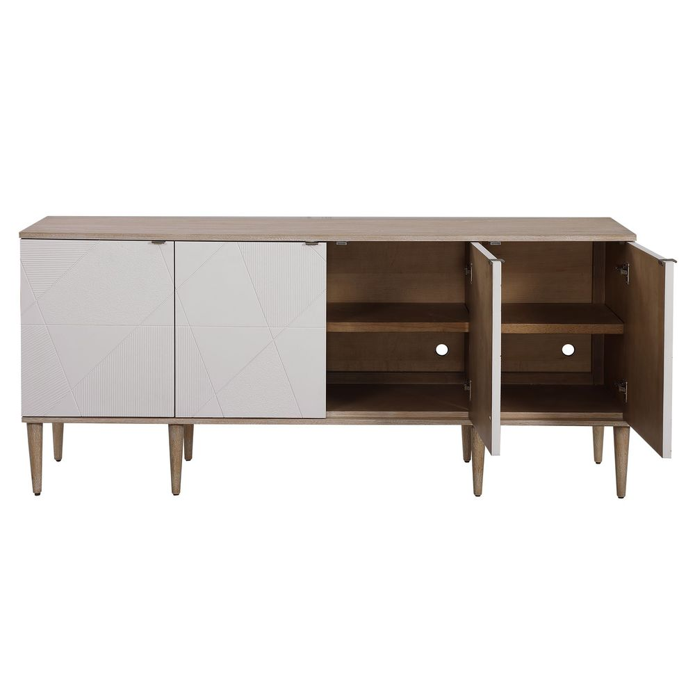 Uttermost Company - Tightrope Four Door Cabinet