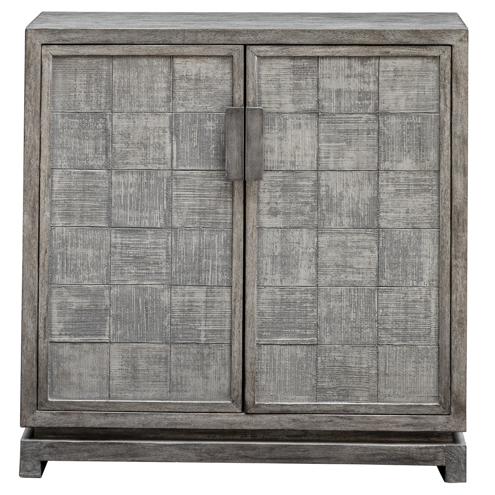 Uttermost Company - Hamadi Distressed Gray Two Door Cabinet