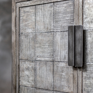 Thumbnail of Uttermost Company - Hamadi Distressed Gray Two Door Cabinet
