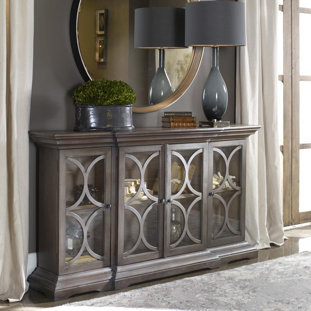 Uttermost Company - Belino Four Door Cabinet