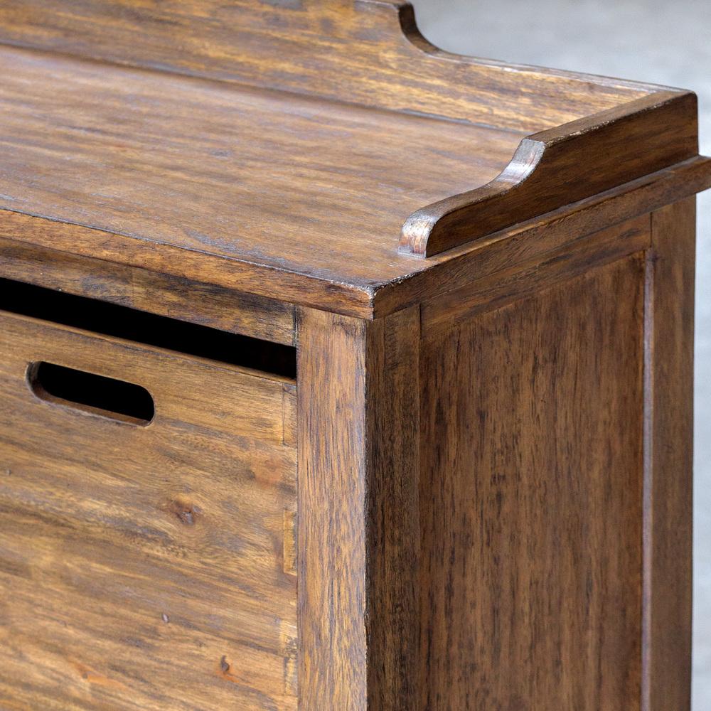 Uttermost Company - Ardusin Hobby Cupboard, Driftwood