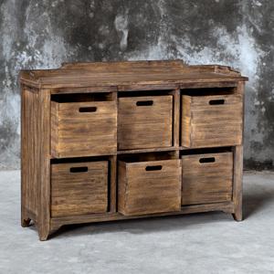 Thumbnail of Uttermost Company - Ardusin Hobby Cupboard, Driftwood