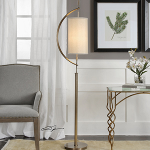 Thumbnail of Uttermost Company - Balaour Antique Brass Floor Lamp