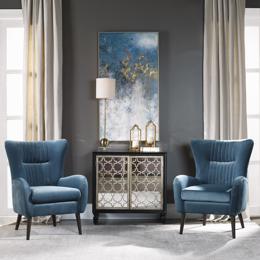 Uttermost Company - Floating Hand Painted Canvas