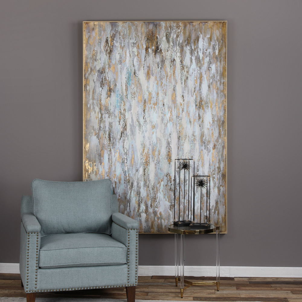 Uttermost Company - Bright Morning Hand Painted Canvas
