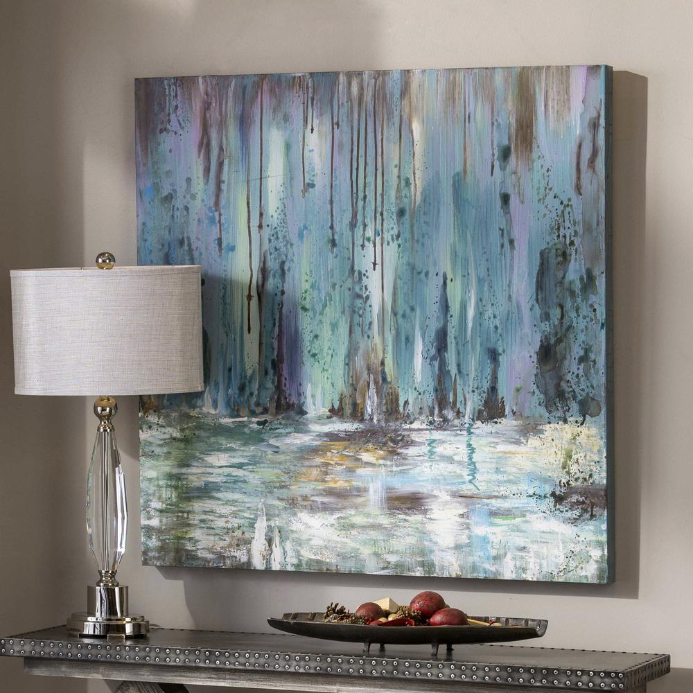 Uttermost Company - Blue Waterfall Art