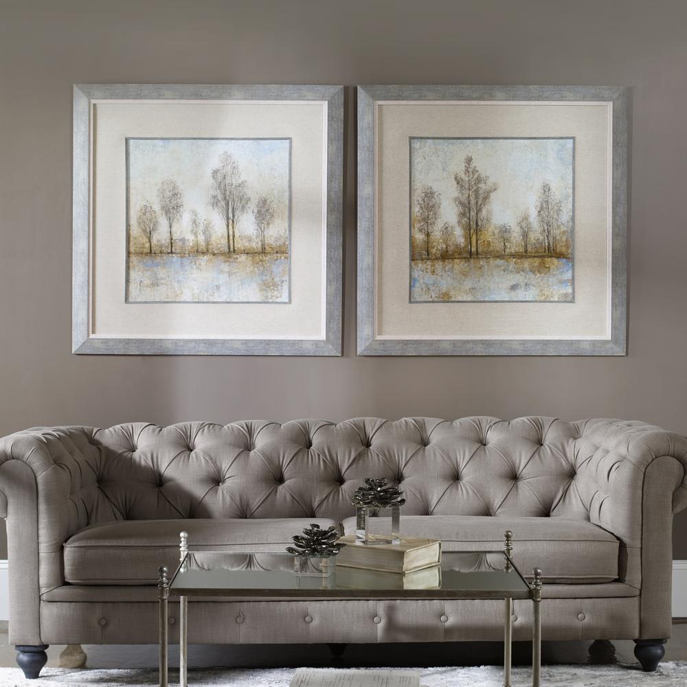 Uttermost Company - Quiet Nature Framed Prints, Set/2