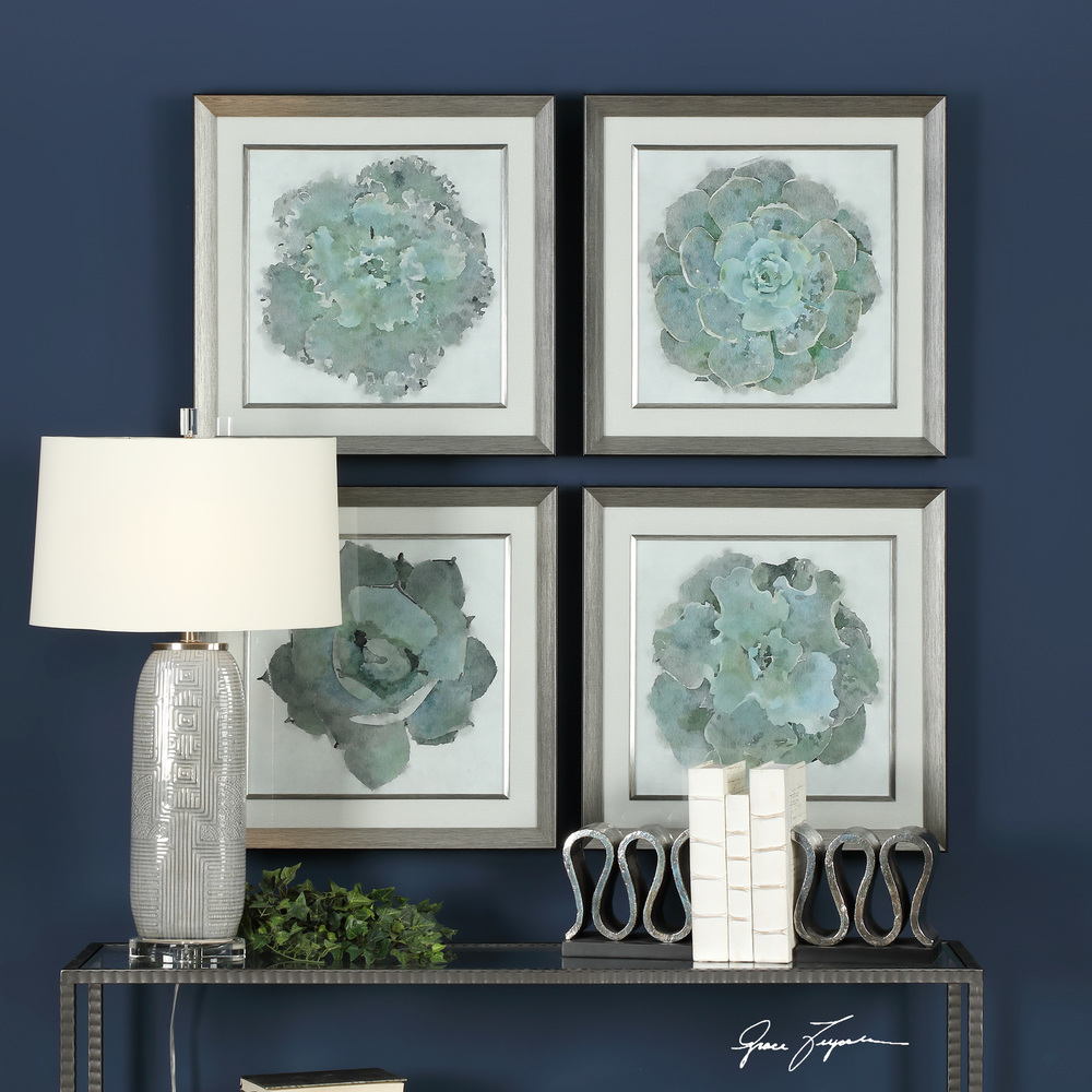 Uttermost Company - Natural Beauties Framed Prints, Set/4